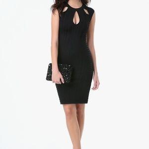 Bebe Sleeveless Little Black Dress